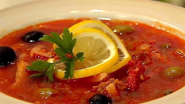 Солянка суп классический рецепт пошагово 31