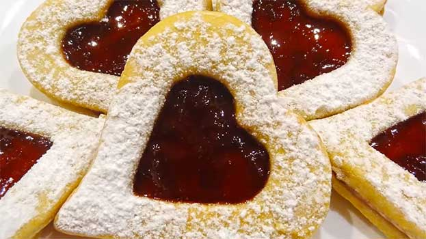 Печенье на 14 февраля - сладкие сердечки валентинки на день святого валентина